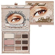 Too Faced Cosmetics, Natural Eye, Neutral Eye Shadow Collection, 0.39 Ounce for $32.37