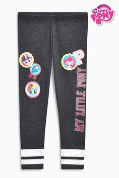 Buy Charcoal My Little Pony Leggings (3-16yrs) from the Next UK online shop