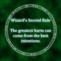 Wizard's Tenth Rule Terry GoodKind- Sword of Truth Series Roman Fantasy, Sword Of Truth, Terry Goodkind, Favorite Book Quotes, Life Affirming, Life Rules, Reading Quotes, Film Books, Mindfulness Quotes