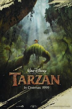 Luc's favorite Disney movie: Tarzan