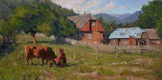 Evening Milking - Albin Veselka