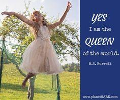 Queen is better than princess.