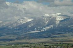 My home in Montana.  I grew up there.  Old Baldy.