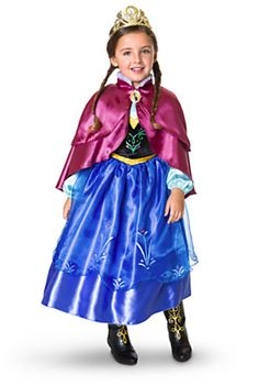 Anna Costume Collection costum collect, holiday gift, costumes, disney store, anna costum, frozen parti, disney trip, halloween costum, disney frozen