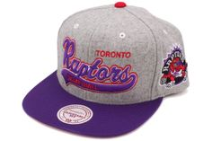 65ae4d8818d Mitchell AND Ness NBA Teams NP60Z Tailsweeper Heater Melton Strapback Hats  Caps