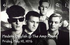 Modern English @ The Amp Room!! 5/20