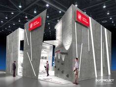 Exhibition stand Lighting Technologies by Nick Sochilin