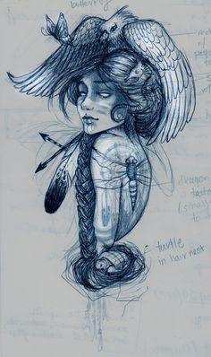 Sketchbook / Process : Chelsea Brown