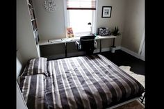 Study and fold out double guest bed