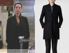 Elementary: Season 3 Episode 21 Joan's Leather Lapel Coat