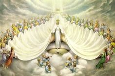 Queen of Heaven...This page has an extensive list of the many, many titles of the Blessed Virgin Mary.