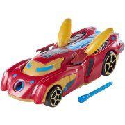 Hot Wheels Marvel Iron Man Car