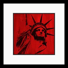 Statue of Liberty II Graphic Art