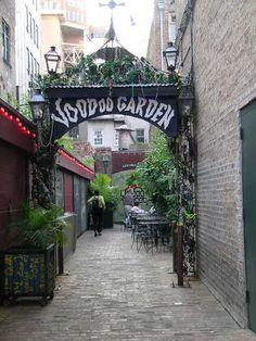 New Orleans....Voodoo Garden