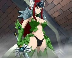 Erza Scarlet is an S-class Mage from the Guild Fairy Tail and one of the main female. Fairy Tail Erza Scarlet, Erza Scarlet Armor, Mirajane Fairy Tail, Anime Fairy Tail, Fairy Tail Girls, Image Fairy Tail, Fairy Tail Images, Fairy Tail Pictures, Fairytail