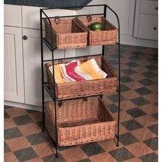Wrought Iron Basket Stand With Baskets | New House Decor | Pinterest |  Wrought Iron, Iron And Iron Work