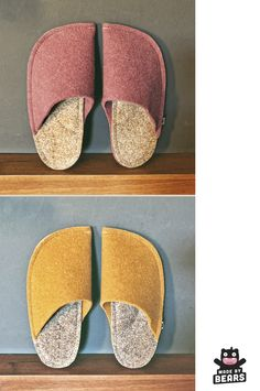 Cute boho slippers for a boho wedding theme. Slippers are made of wool felt. #boho #bohowedding #bohoweddingtheme #slippers #weddingslippers Cosy Home Decor, Yellow Slippers, Wedding Slippers, Natural Rubber Latex, Boho Wedding Decorations, Felted Slippers, Pink Outfits, Pink Fashion, Womens Slippers