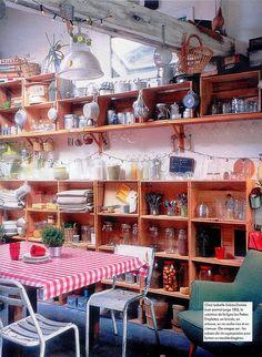 like the shelves