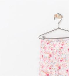 LEGGINGS WITH FLOWER PRINT from Zara