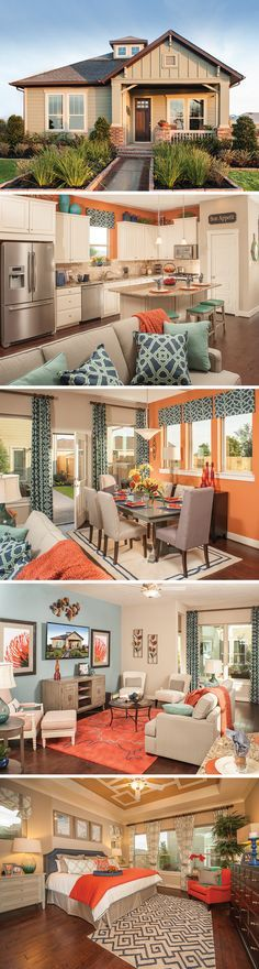 Is The Abney in Cypress, Texas the new home for you? This lovely 1 story, 3 bedroom house is very efficient in it's use of space! The Abney is perfect for family game night or entertaining guests!