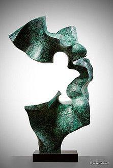 Peter Mandl - Glass & Bronze Sculptures | bronze sculptures