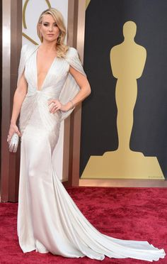 Kate Hudson arrives at the 86th Annual Academy Awards at the Dolby Theatre in Hollywood on March 2, 2014.