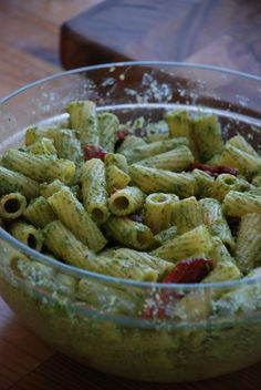 Rigatoni with Radish Pesto and Oven-Roasted Tomatoes