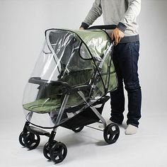 Universal Impermeable Viento Escudo de Polvo Cubierta Para La Lluvia cochecito de Bebé Cochecito Cochecito de Niño