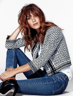 Alexa Chung by Nicole Heiniger for Elle Brasil December 2014