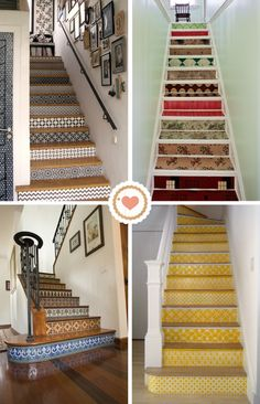 pattern stairs.