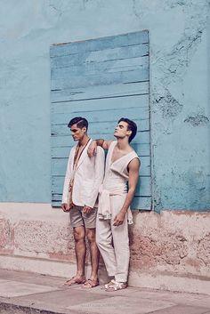 André Gallet & Renzo Pietroni por Ronald Hinostroza para HUF Magazine