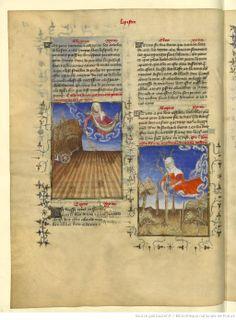 L'Epistre Othea à Hector, fol Medieval Manuscript, Medieval Art, Bnf, Illustrations, Oeuvre D'art, Alter, Baseball Cards, Camps, Friends