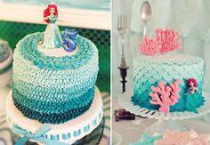 Ideias para você fazer uma linda festa de sereia para sua filha! Confira inspirações que você pode reproduzir em casa, para montar a comemoração perfeita!