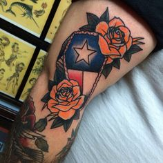 Texas flag coffin by Heather Law at forever tattoo parlour Cape Coral, FL - Imgur