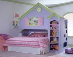 Dollhouse Bed at aBaby. We offer Dollhouse Bed for your baby at great prices. Girls Bunk Beds, Loft Bunk Beds, Bunk Beds Built In, Kid Beds, Canopy Beds, Bedroom Sets, Girls Bedroom, Childrens Bedroom, Bedroom Decor