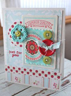 SWEET CARD CLUB: Utilicemos botones en nuestras tarjetas!!!