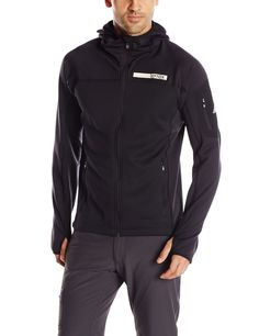adidas outdoor Men's Terrex  Stockhorn Fleece, Black, Small ** Read more  at the image link.