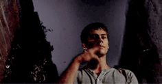 Dylan O'Brien - the maze runner gif