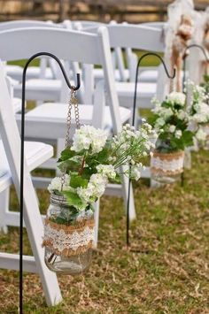Outdoor Wedding Aisle Decoration Ideas to Love!