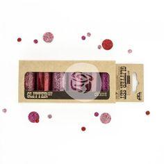 Art Extravagance Glitter Set - Crimson