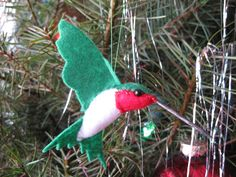 Hummingbird Felt Ornament | Mostly Photos