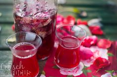 © Mirjam Letsch | www.streetfood-wo... Rose petal syrup from award winning recipe book Street Food Kosovo.