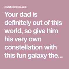 Your dad is definitely out of this world, so give him his very own constellation with this fun galaxy themed Father's Day Card. I will show you how to achieve this look! I originally made this project for Spoonful. Spoonful has since closed and the instructions were taken down. I am putting the instructions hereRead More »