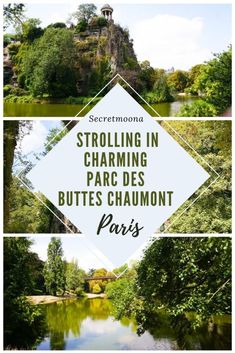 A stroll in Charming Parc des Buttes Chaumont, Paris - SecretMoona