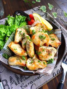 ♡フライパンde簡単節約♡むね肉の塩バターレモン焼き♡【#ヘルシー#時短#鶏むね肉】 : Mizuki