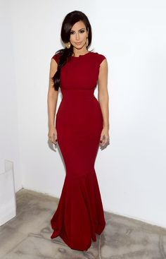 I am not a fan of Kim...but I like this dress