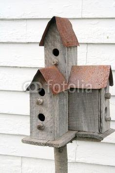 birdhouse condo plans - Google Search