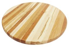 One Kings Lane - Fresh from the Oven - Side-Grain Circle Cutting Board