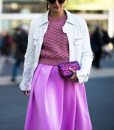Our Street Style Guide To Wearing Brights Now