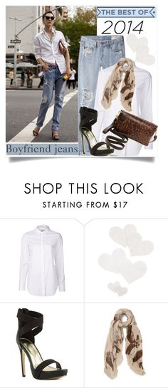 """""""Best of 2014/Boyfriend Jeans"""" by clotheshawg ❤ liked on Polyvore featuring Closed, Bristols6 and Foley + Corinna"""